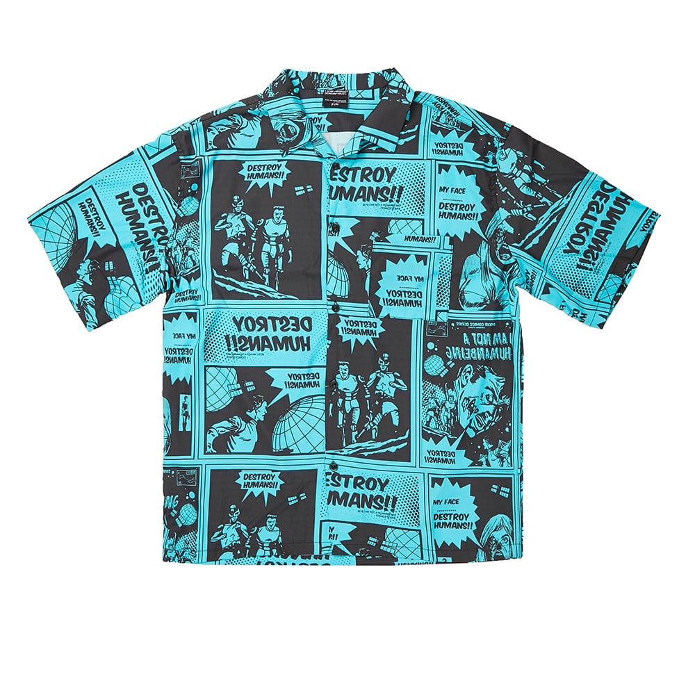 Comics Boardshirts - TEAL