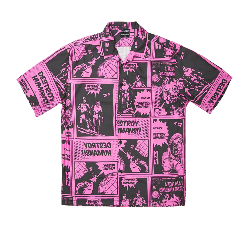 Comics Boardshirts - DUST PINK