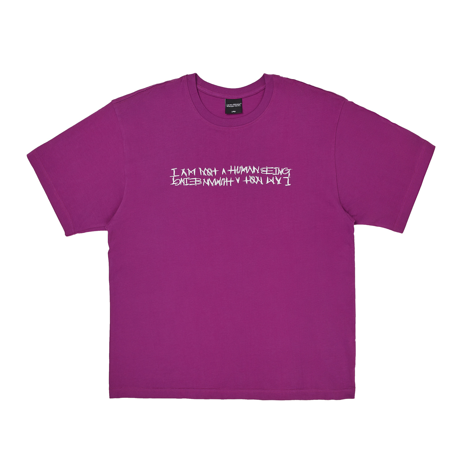 Basic Logo Tee - DEEP PURPLE