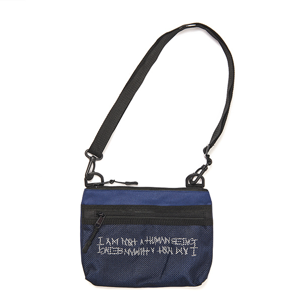 Basic Logo Pouch Bag - BLUE