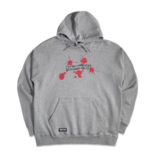 Poly Bag Hoody - Grey