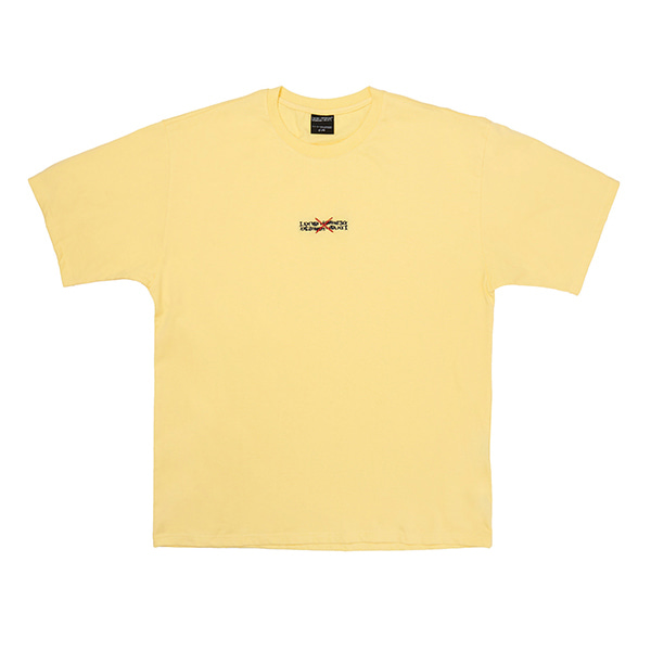 Gotthem Tee - LIGHT YELLOW