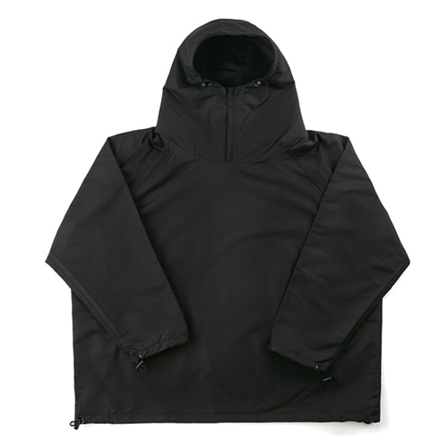 Ripstop Anorak Jacket - BLACK