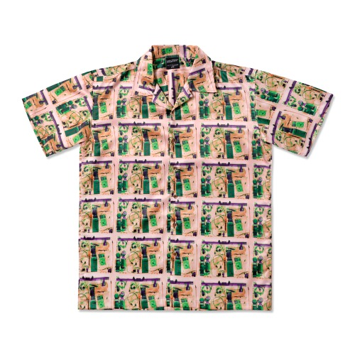 All Baggage Short Sleeve Shirt - MULTI
