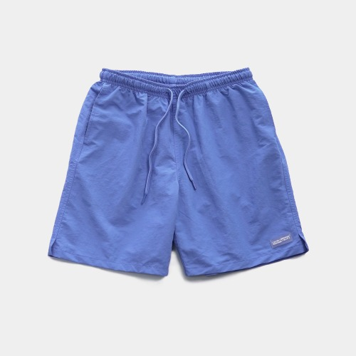RUBBER PATCHED SHORTS - BLUE